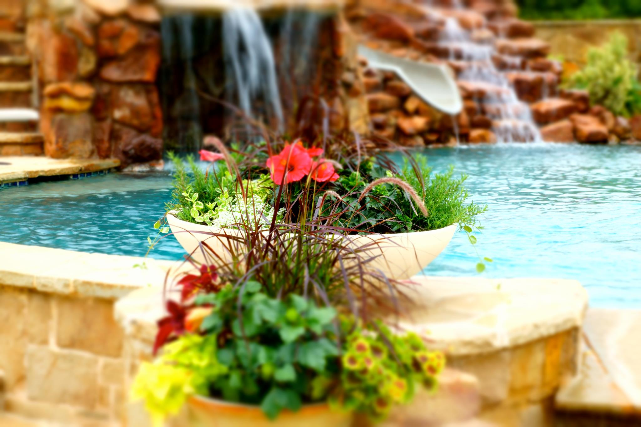 Water Feature Pools